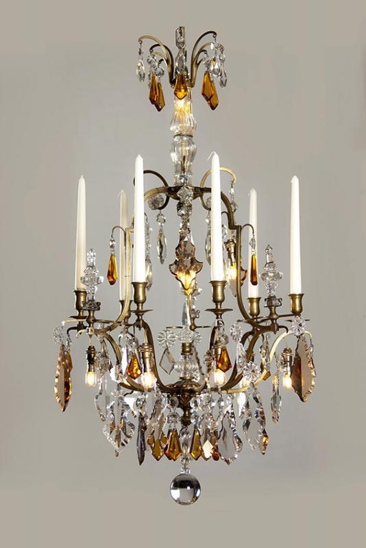 Antique chandelier from France