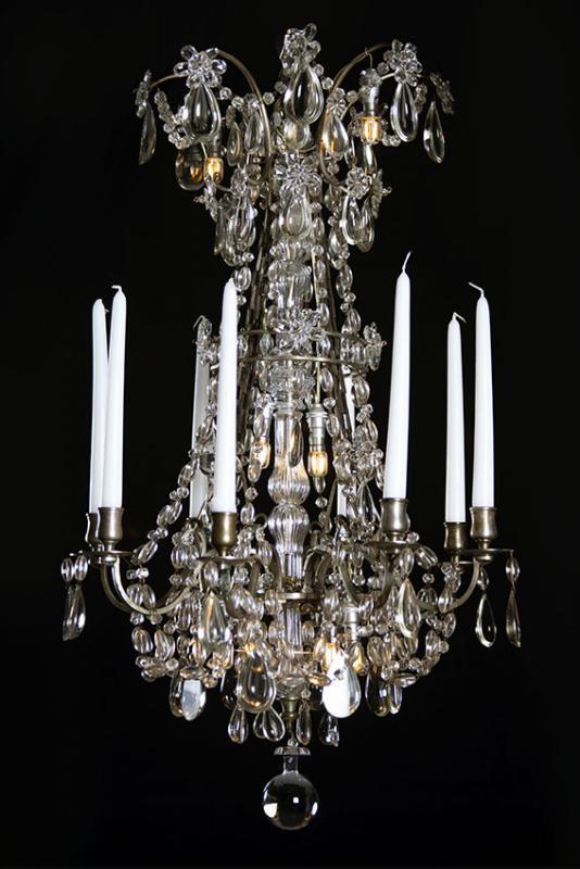 Antiker Kronleuchter Stil Marie Antoinette