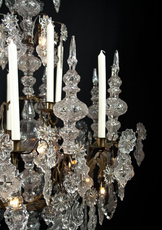 kaarsen kroonluchter gotiek