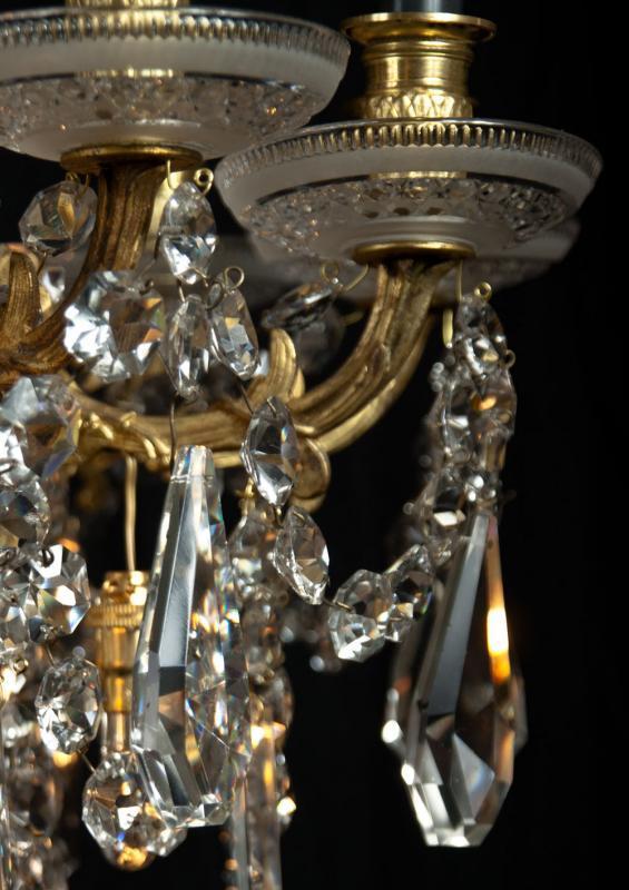 Kristallen antieke kroonluchter