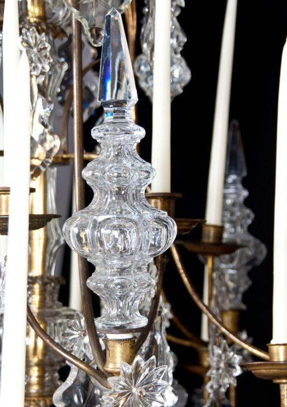 lustre a cage 18e eeuw