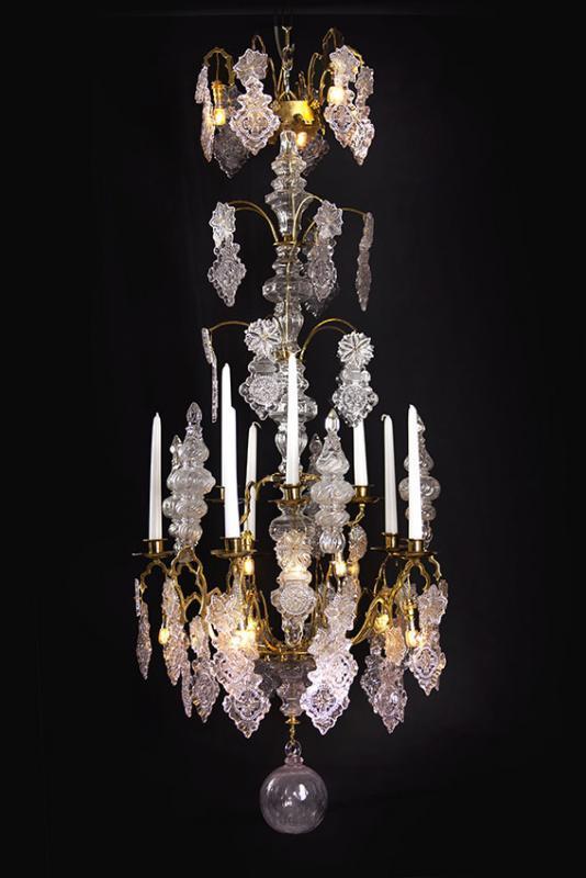 Neo gotische 19e eeuwse kroonluchter