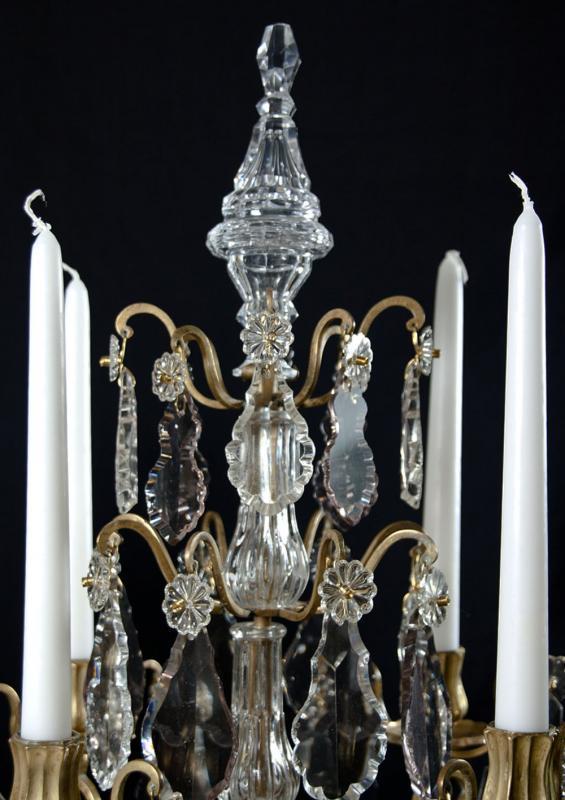 Set 19e eeuwse girandoles