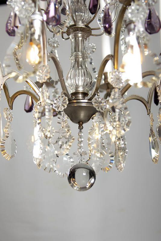 Silver antique French chandelier - Silver Antique French Chandelier Fineantiquechandeliers.com