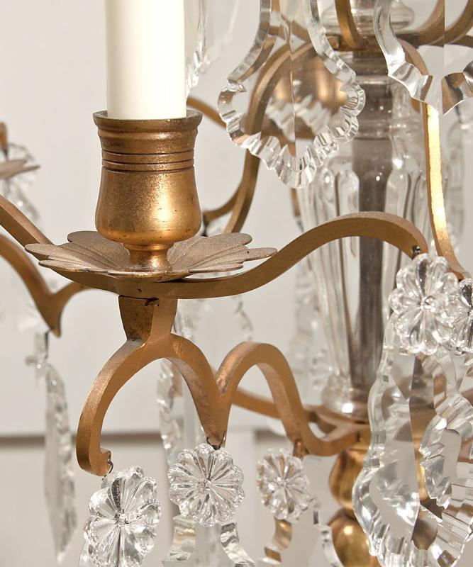 Set antieke Franse bronzen girandoles