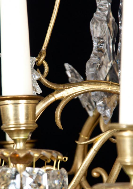 Baccarat Franse antieke kristallen kroonluchter