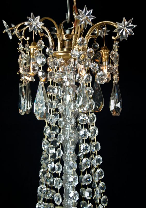 kristallen vergulde kroonluchter Baccarat