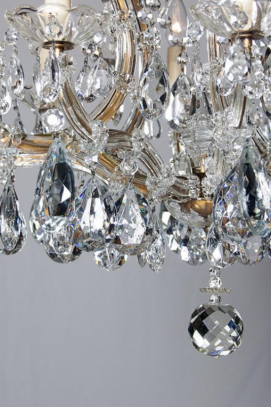 grote Marie Therese kroonluchter met 10 lichtpunten