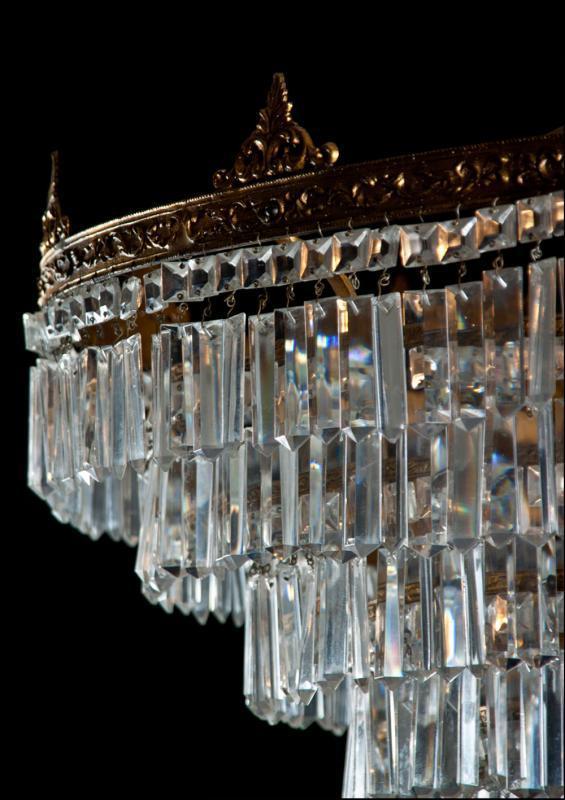 kristallen sac a perles jaren 30 uit italië