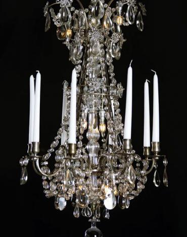 Antieke kroonluchter stijl Marie Antoinette