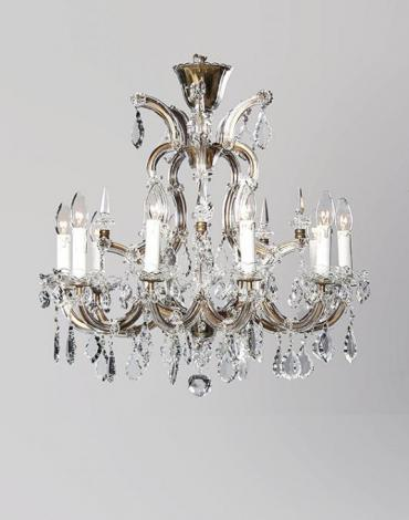 Antique 1930s Marie Therese chandelier