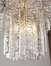 Paolo Venini design Kronleuchter Mazzega designlampe