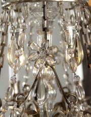 Antique chandelier Marie Antoinette style