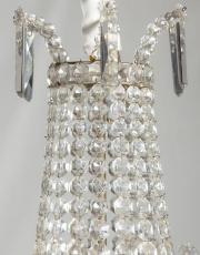 French crystal pearl bag
