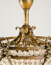 Louis XVI bronzen plafonier of zakluchter