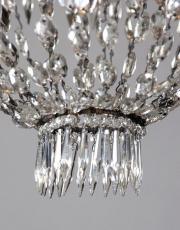 Antieke kristallen sac a perles