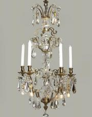 Antique chandelier with Led lights