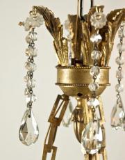Franse Louis XVI kroon, verguld brons