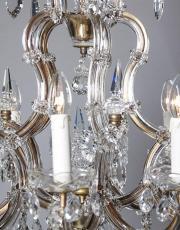 Grosser Marie Therese Kronleuchter mit 10 Lichter