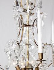 Zweedse kroonluchter model 18e eeuw