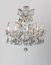 Antique art deco Marie Therese chandelier