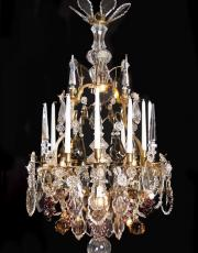 Important antique Fruit chandelier from France