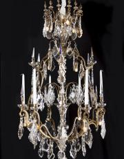Large antique French chandelier