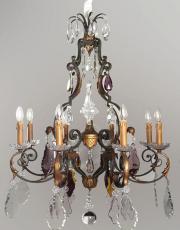 Large antique castle chandelier