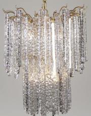 Paolo Venini design chandelier Mazzega