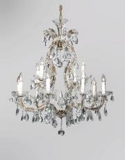 Large Marie Therese 1930s antique chandelier