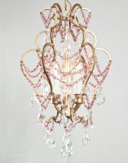 pink opaline beads