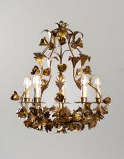 Italian Vintage Hollywood regency chandelier