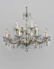 Large Maria Theresa 1930s chandelier