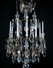 19th century birdcage chandelier