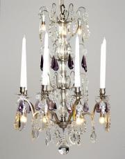Silber Antike Französische aus Kristall