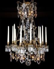 Baccarat chandelier