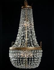 Grote zakluchter met kristallen pegels uit Frankrijk