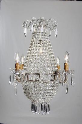 Antieke kristallen zakluchter uit Frankrijk