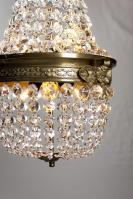 Antieke Franse kristallen zakluchter jaren 20