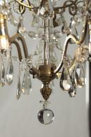 Antieke kroonluchter met Led lampjes