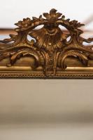 Antieke spiegel uit Frankrijk met ornament