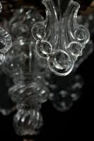 Grote kaarsen kroonluchter neo gotiek