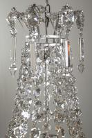 Franse zakluchter met kristallen pegels