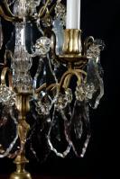 Set 19e eeuwse girandoles uit Frankrijk