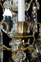set 19e eeuwse kandelaars, antieke girandoles