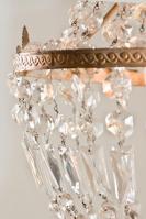 Antieke kristallen Franse zakluchter