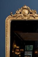 antieke spiegel met bladgoud