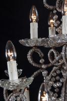 Grote Italiaanse kristallen kroonluchter